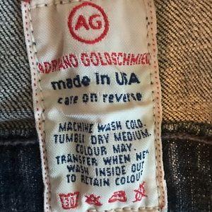 "Ag Adriano Goldschmied Jackets & Coats - Adriano Goldschmied AG ""The Alamo""Denim Jacket"